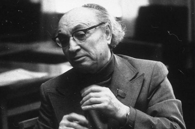 Назиб Жиганов в 1970-е годы.