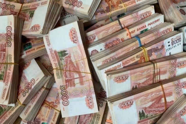 Деньги были аккуратно перевязаны резинками.