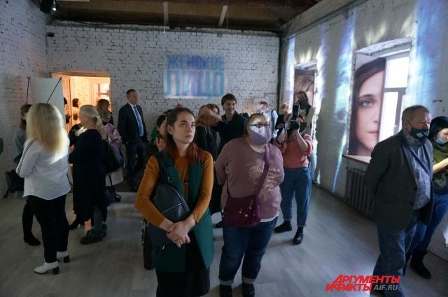 Открытие выставки «Женское лицо» в Перми 12 марта.