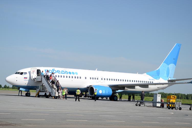 В Киров стали летать самолеты авиакомпании Победа.