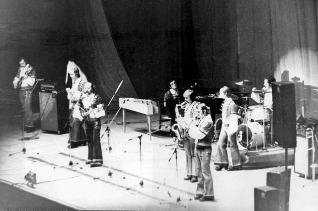 Ансамбль «Песняры» на концерте в Ярославле, 1974 год.