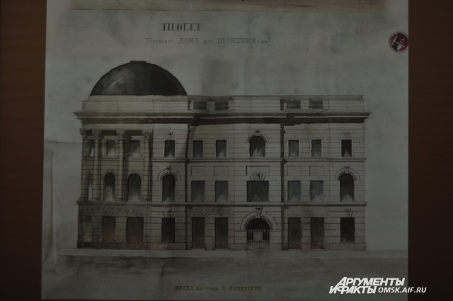 Здание ПРомбанка могло стать украшением Любинского проспекта.