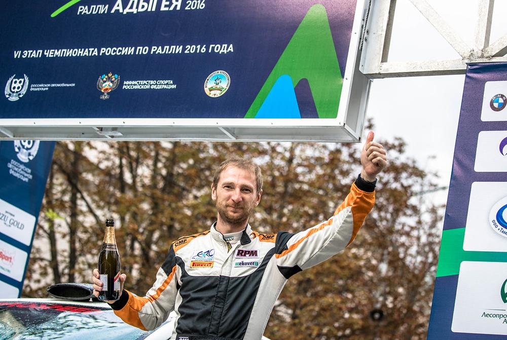 1 место ралли – экипаж Алексей Лукьянюк и Михаил Соскин на MITSUBISHI Lancer Evo X.