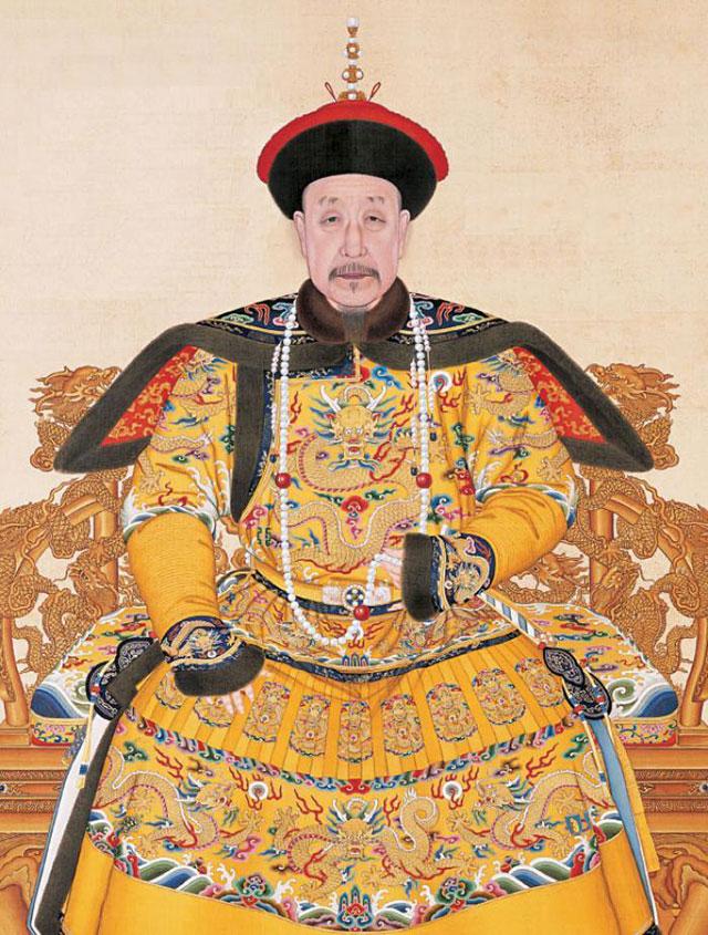 Император Цяньлун. Портрет кисти неизвестного художника.