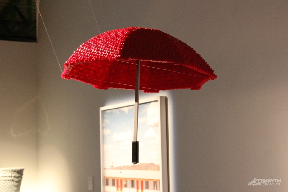 Зонт для снимка Дина Веста