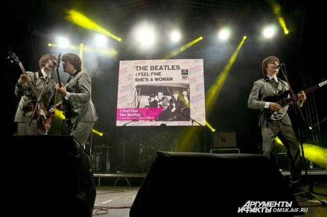 Живой концерт группы The Beatlove