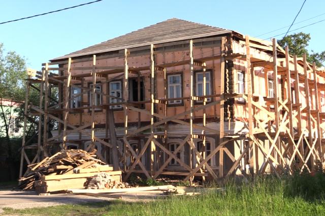 Реставрация Дома Ешухина