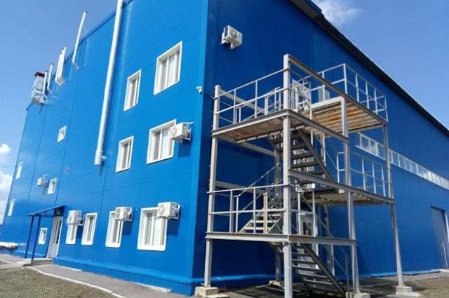 Новый мусороперерабатывающий комплекс в Балаковском районе Саратовской области.