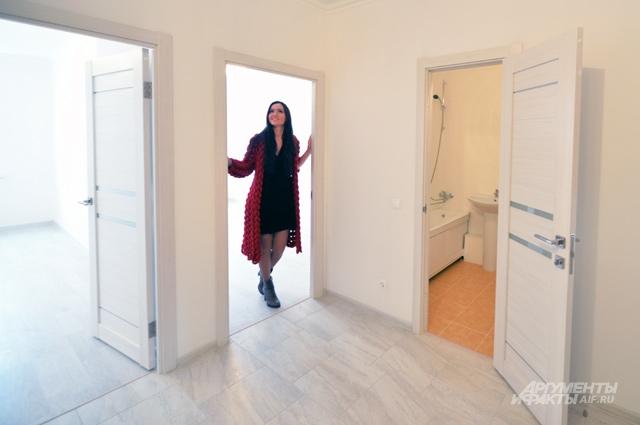 Квартира с готовым ремонтом - это сэкономленные как минимум 200-300 тыс. рублей.