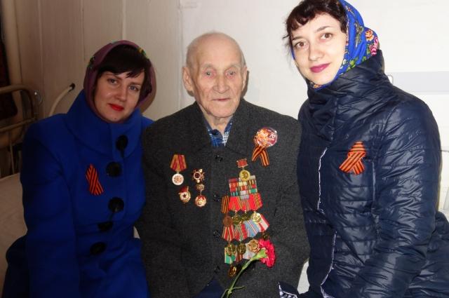 Участники Великой Отечественной всегда рады гостям.
