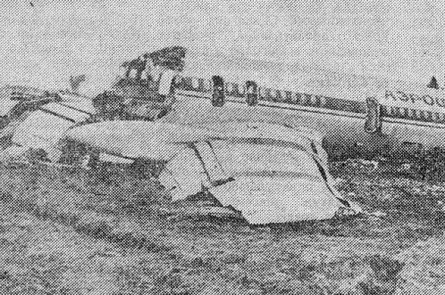 Катастрофа рейса 8556 Аэрофлота в ленинградском аэропорту Пулково.