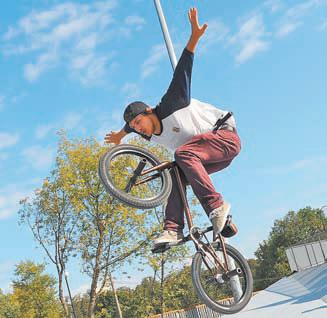 Скоро трюки навелосипеде можно будет выполнять нановом велодроме.