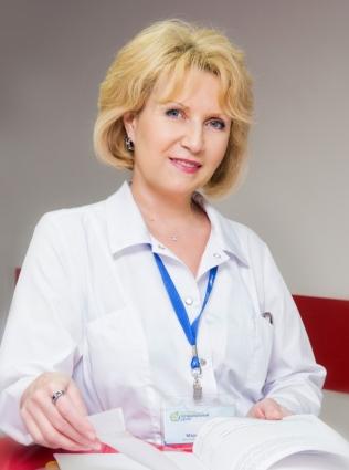 Главный детский гематолог Красноярского края Марина Борисова.