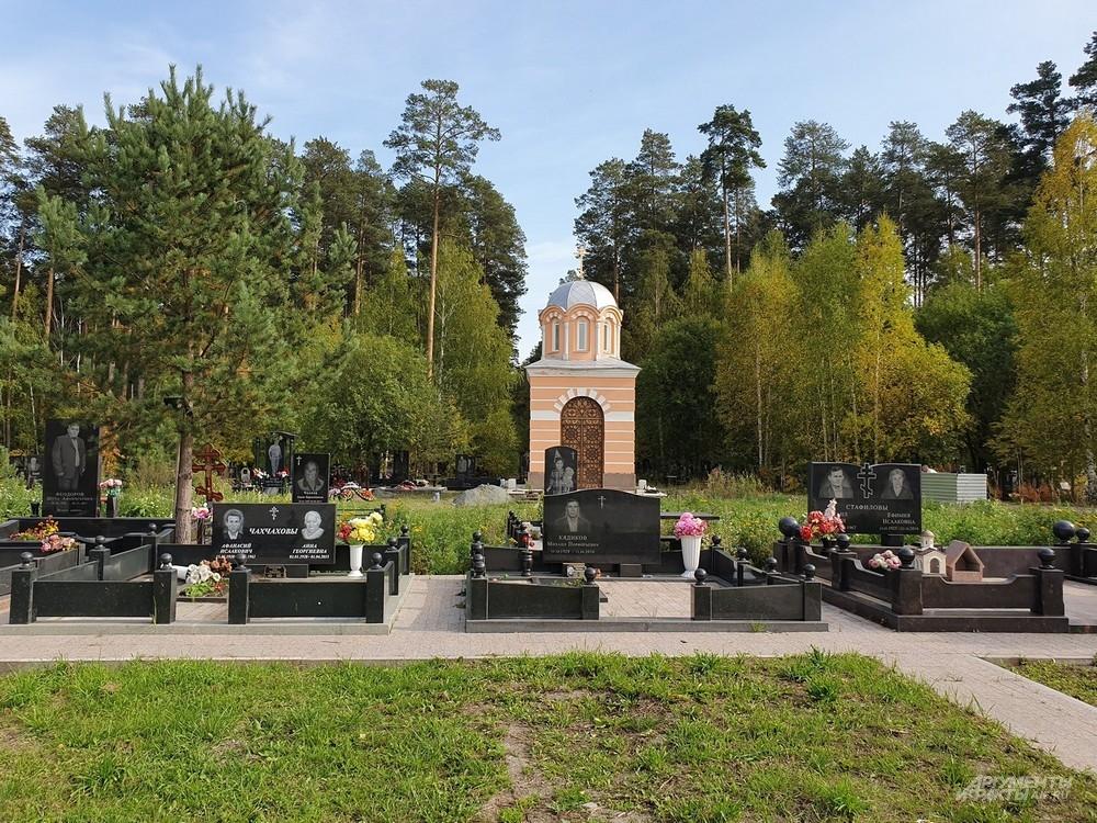 На Лесном кладбище есть очень представительные могилы