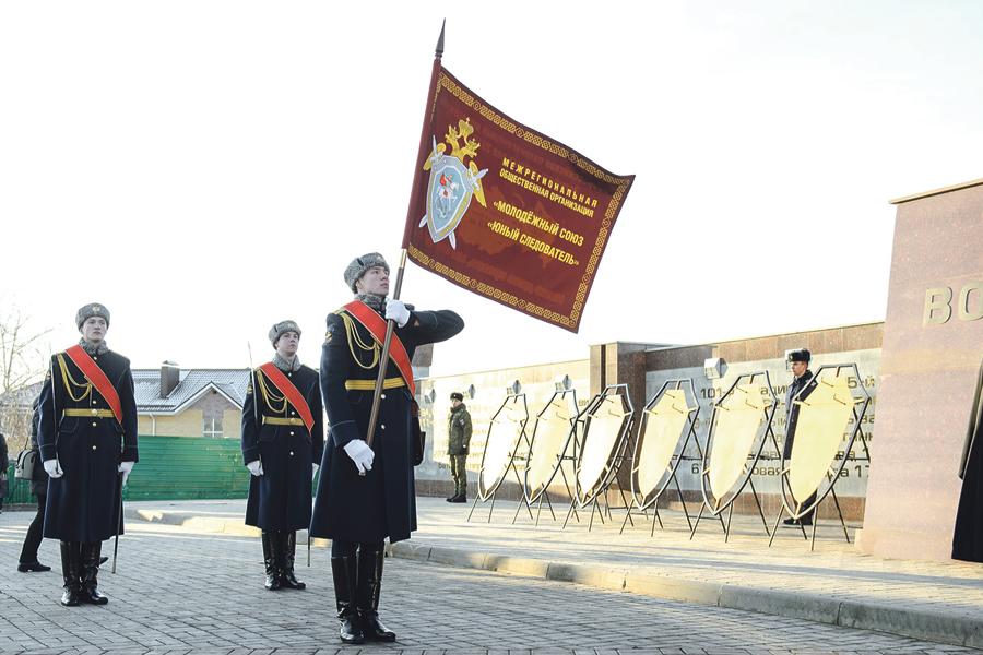 Торжественные мероприятия прошли на мемориальном комплексе «Чижовский плацдарм».