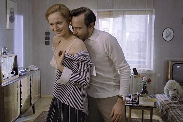 Ирина Купченко и  Василий Лановой в фильме Юлия Райзмана «Странная женщина». 1978 год.