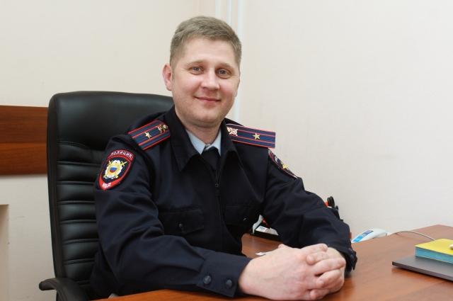 старший оперуполномоченный ОЭБиПК отдела МВД по Краснокамскому городскому округу Дмитрий Швецов.