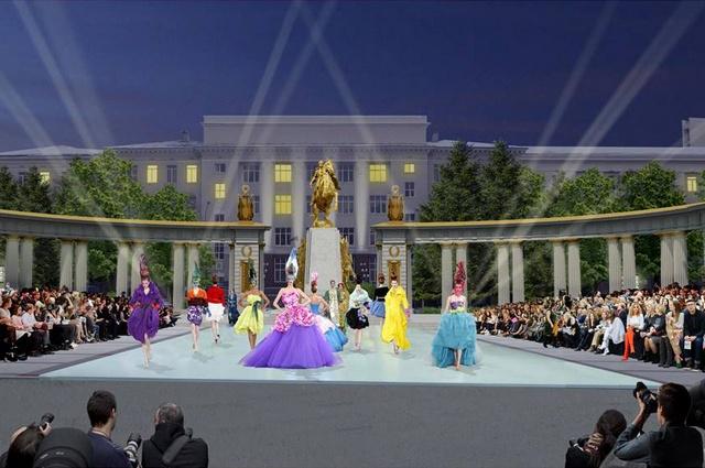 Эскиз памятника на Советской площади (с измами)