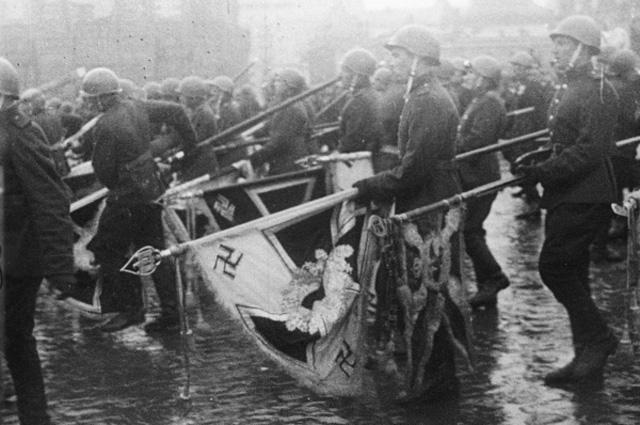 Парад на Красной площади. 1945 год