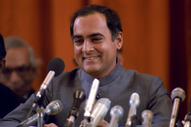 Раджив Ганди. 1985 год