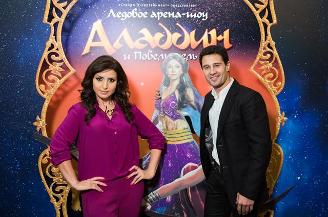 Жасмин и Антон Макарский