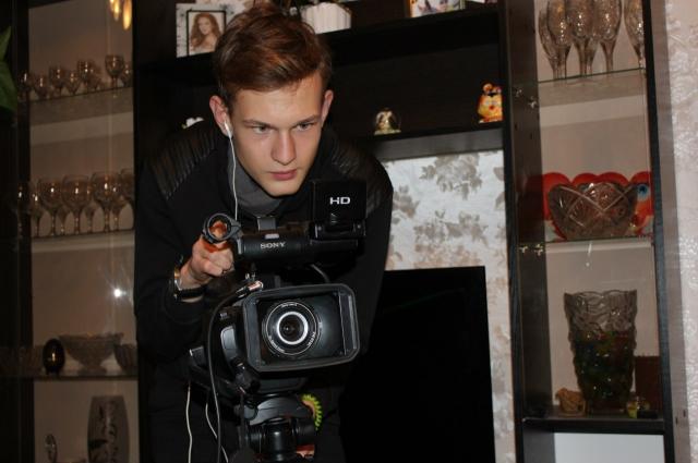 Юнкор Виктор Шейбак привык видеть мир через объектив видеокамеры