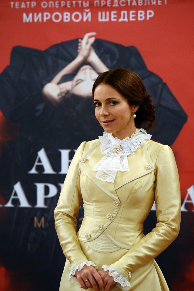 Екатерина Гусева в образе Анны Карениной