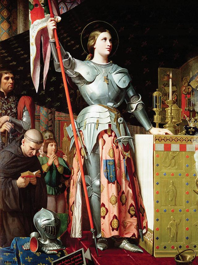 Жанна д'Арк на коронации Карла VII. Жан Огюст Доминик Энгр, 1854.