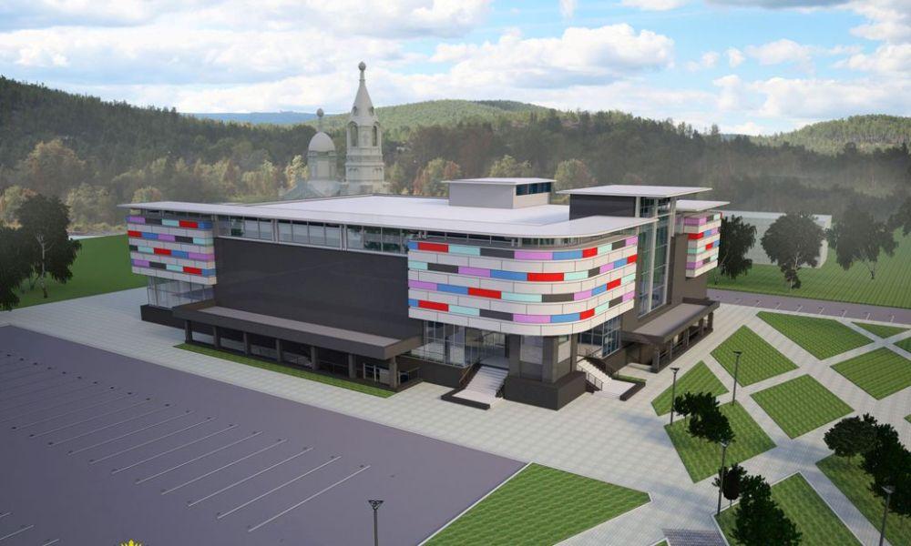 В природный и промышленный пейзаж Карабаша органично впишется новый торгово-развлекательный центр, а также другие новостройки.