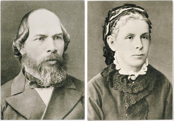 Свадьба Ильи Ульянова и Марии Бланк состоялась в августе 1863 года.