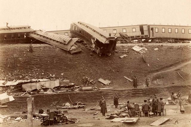Катастрофа императорского поезда 17 октября 1888 года. Борки.