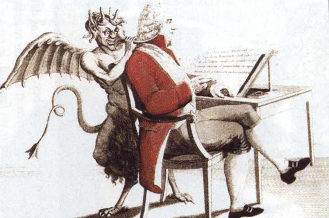Карикатура на Шарля Талейрана.