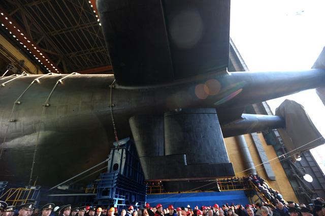 Атомная подводная лодка «Белгород».