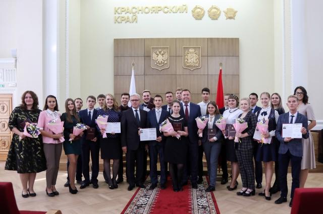 В Красноярском крае существуют более десятка различных мер и форм поддержки талантливой молодежи.
