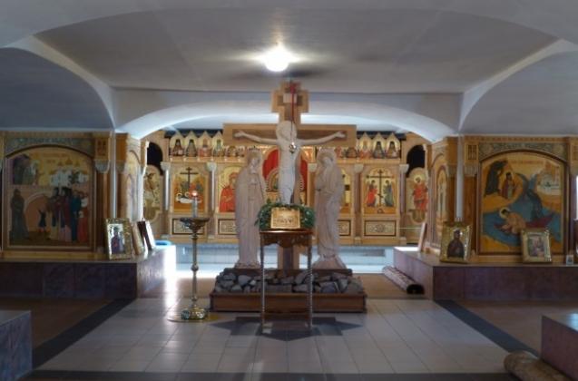 Сибирская Голгофа — уникальный храм, расположенный в крипте Успенского собора.