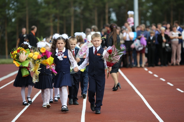 С началом учебного года образовательный комплекс открыл свои двери для 1275 учеников.