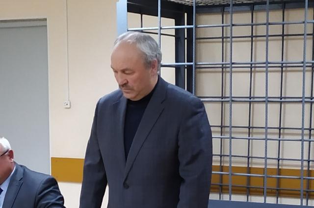 Василий Шихалев в суде.