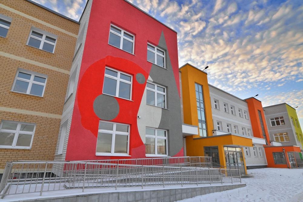 Новый детский сад в Каменске-Уральском второй корпус муниципального автономного дошкольного учреждения «Детский сад №3» (Комсомольский бульвар, 32а).