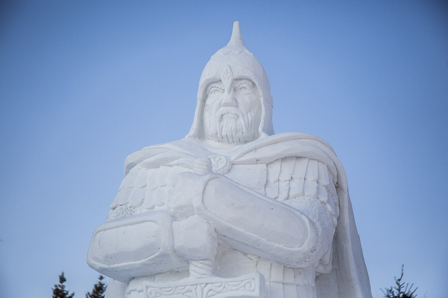 Фестиваль снежных фигур