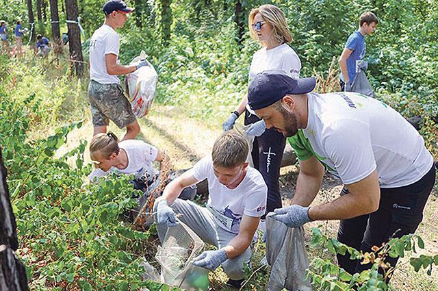 Липчане активно поддерживают экологические инициативы.