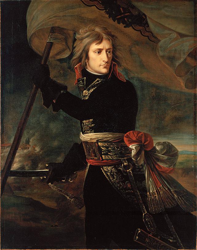 Наполеон на Аркольском мосту, Жан-Антуан Гро, 1801