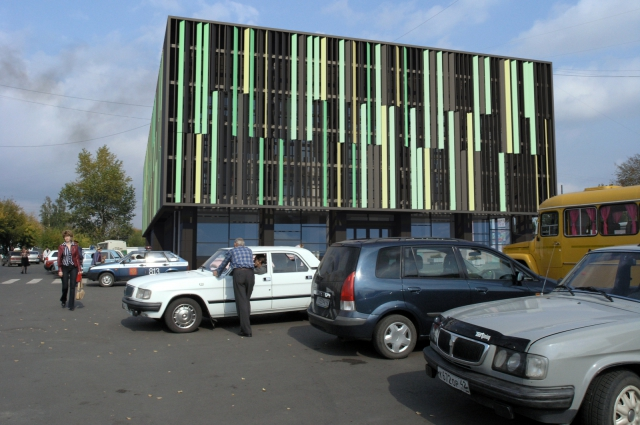 Реконструкция народного театра в Анжеро-Судженске