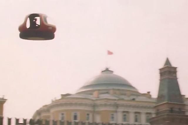 Флип над Кремлем.
