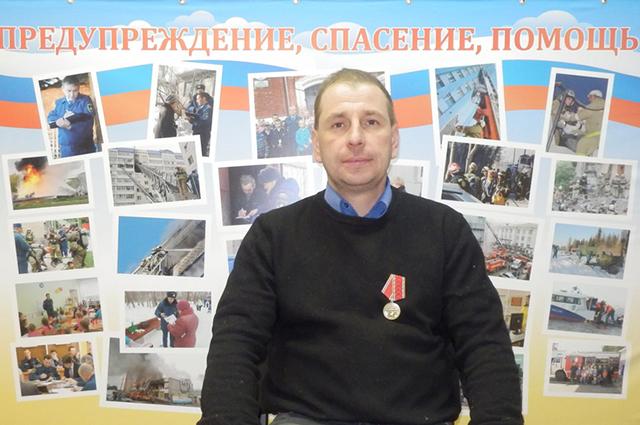 В конце января 2016 года Алексей Шабалин от управления МЧС получил медаль «За отвагу на пожаре».