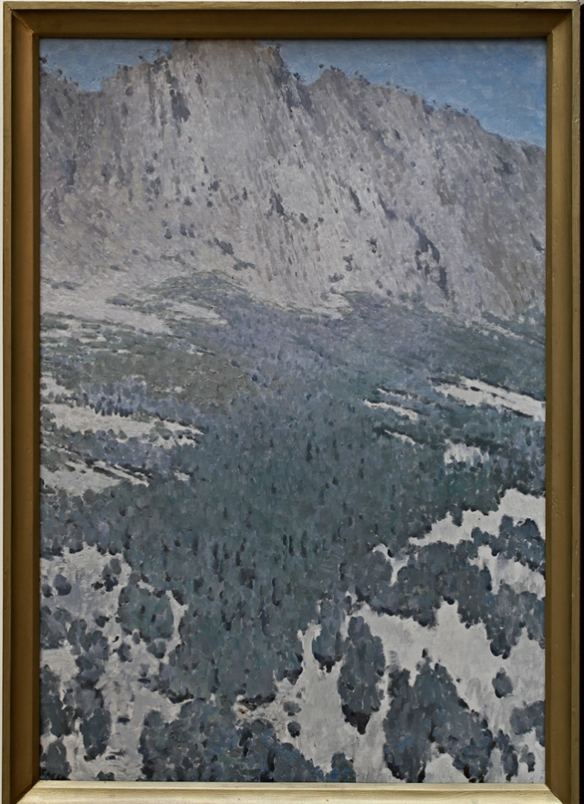 Л. Бакст. Оливковая роща в горах.