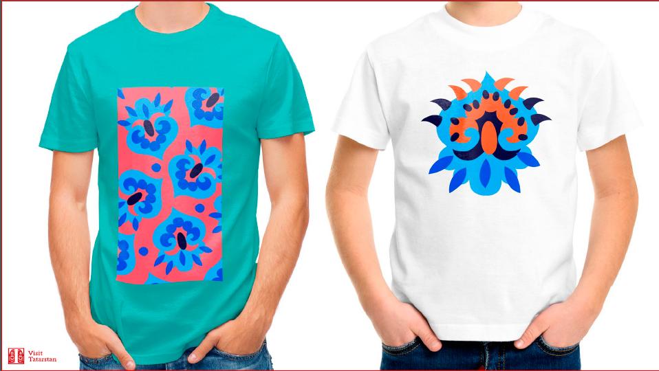 Образцы сувенирных футболок