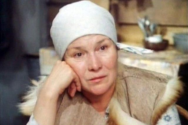 Нина Мазаева в фильме «Место действия», 1983 год