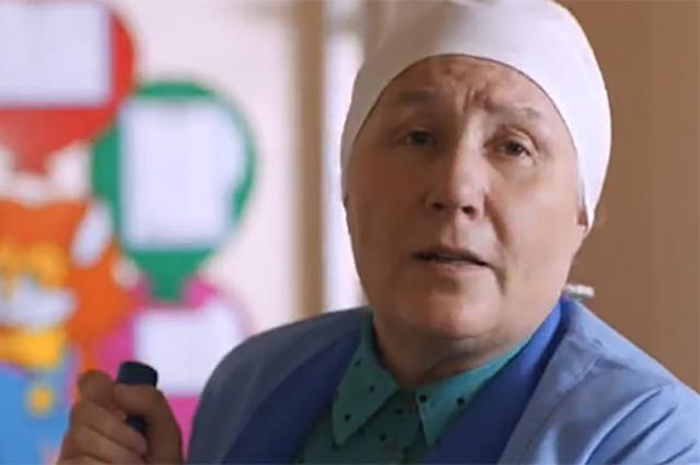 Лариса Крупина в фильме «Верю».