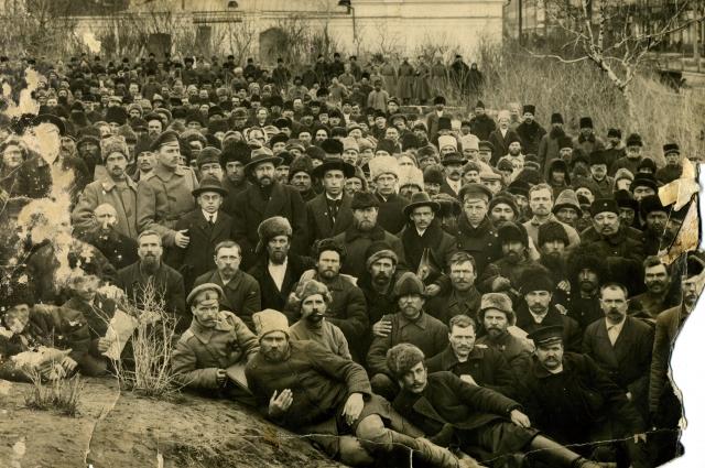 Первый учредительный съезд Западно-Сибирского совета крестьянских депутатов 1917 год.