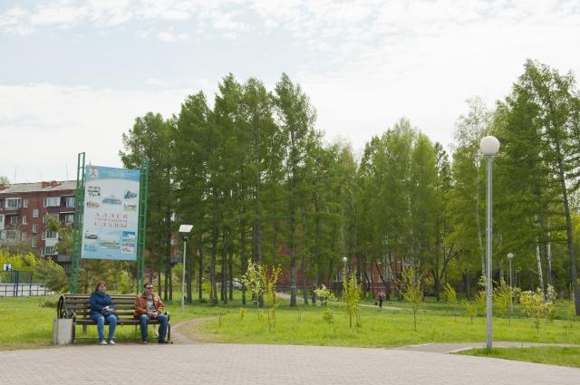 Сад «Сибирь» скоро заполнять аттракционы.